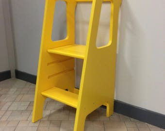 Learning Tower Colorful Montessori-tower learning-Montessori Stool