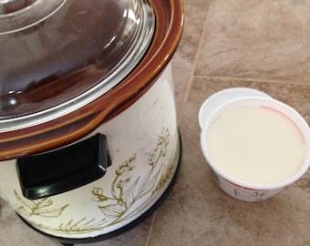 Creamy Crockpot Yogurt