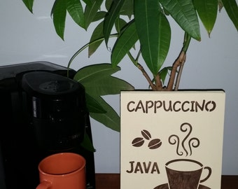 Java Wall Plaque