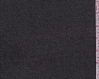Sheer Black Silk Chiffon, Fabric By The Yard