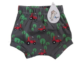 baby bloomers shorts tractor, choose your size