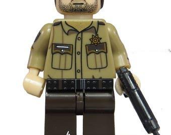 Rick Grimes: The Walking Dead (Sheriff Uniform) LEGO Compatible