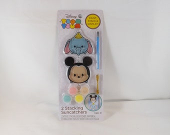 "Disney ""Tsum Tsum"" Set of 2 Stacking Suncatchers"