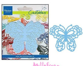 Die cut or cut out butterfly Design scrapbooking refMARLR0113.* Marianne