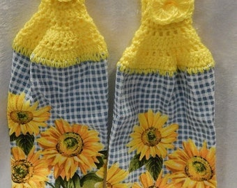 Sunflower Tea Towels-Set of 2