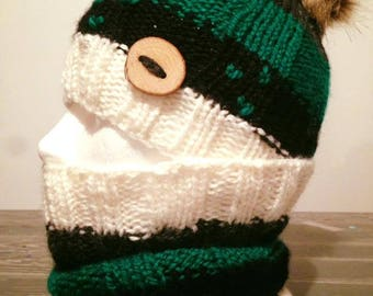 Hat, hat and neck warmer