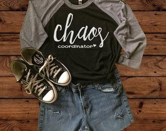 Teacher Shirt - Chaos Coordinator - Teacher appreciation - Teacher Gift - Teacher life - Teacher Style - Teacher tee - Back to School