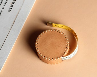 Leather Automatically Retractable Soft Tape Measure, Chest Measuring Ruler, Waist Measuring Ruler, Height Measuring Ruler  120 inch 3M