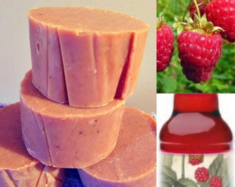 Pink Rubaeus Beer Shave Soap