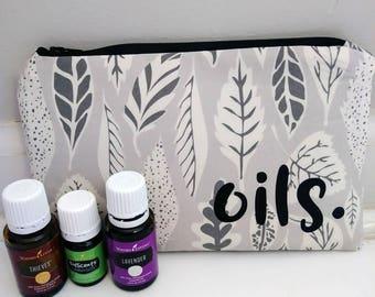 Essential Oil Travel Case, Essential Oil Travel Bag, Essential Oil Case, Essential Oil Bag