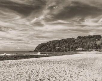Beach Print, Large Beach Photography, Thailand Landscape Photograph, Oversized Print, Asian Ocean Picture, Nautical Art,  Beach House Decor