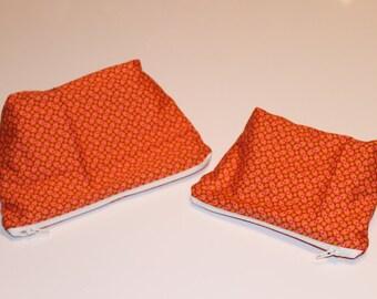 Cotton pouch, purse, tote