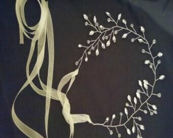 Delicate wedding Hair vine