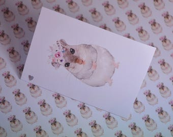 Hamster Wrapping Paper