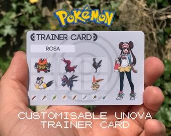 Custom Pokémon Trainer Card [Unova Design]