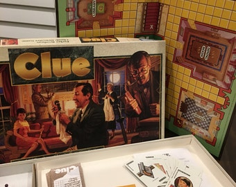 1992 CLUE Board game complete