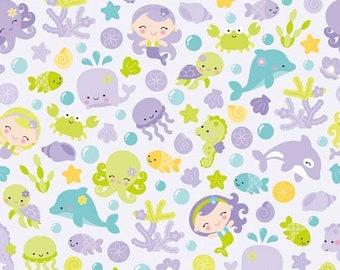 extra15 30% OFF Under The Sea By Doodlebug Design Purple Main