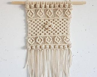 Macrame | Wall-Cloth | Wall Hanger | Wall Decoration | wallhanging | Decor | Gift | Home | Gift | Boho | Decoration