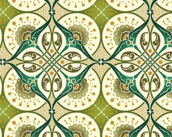 Deco Elegance by Jason Yenter 3JYE 2M Metallic Art Deco Fabric for In The Beginning Fabrics - 100% Cotton Fabric