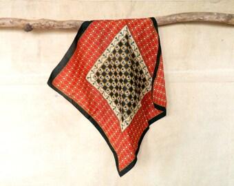 Vintage scarf/Big scarf/vintage shawl/scarf