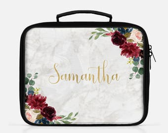 Marble Lunch Box Lunch Bag Personalized Lunch Lunchbox Marble Lunch Box White Marble Cute Lunch Box Graduation Gift Lunch Box For Women