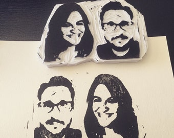Personalised rubber stamps