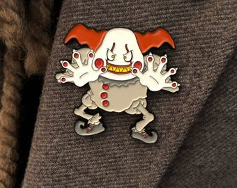 Mr. Pennymime soft enamel pin