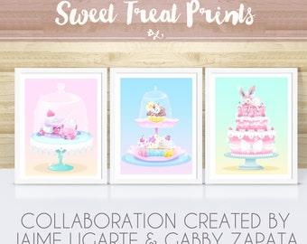 8.5x11 Sweet Treats Collab- Choose Print Choice