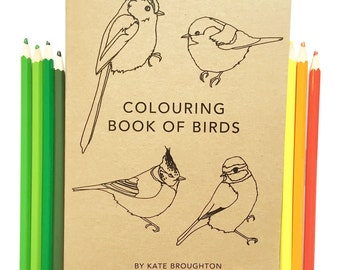 Colouring Book Of Birds British Bird Coloring