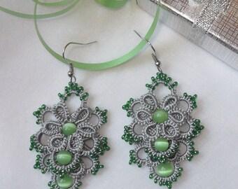 Frivolite earrings