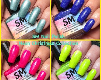 Neon Christmas Collection/ SM Nail Polish