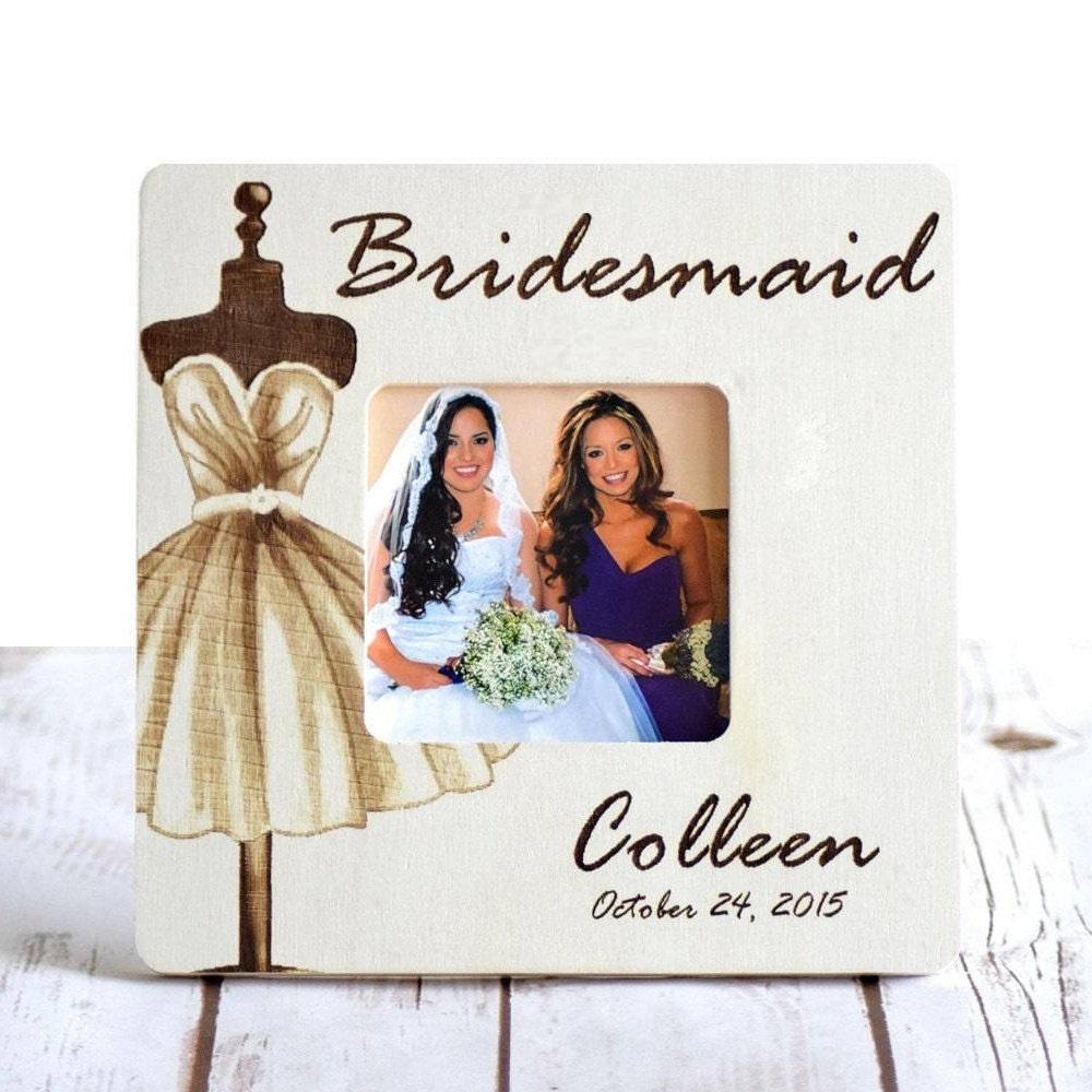 Brautjungfer Rahmen Brautjungferngeschenke Brautjungfer