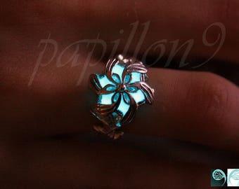 Nenya Galadriel RING / Sterling Silver Galadriel ring / GLOW in the DARK Ring / Nenya Galadriel / Glow in the Dark /