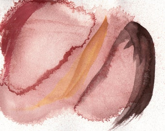 Wrap Around - Abstract Watercolor Painting Print