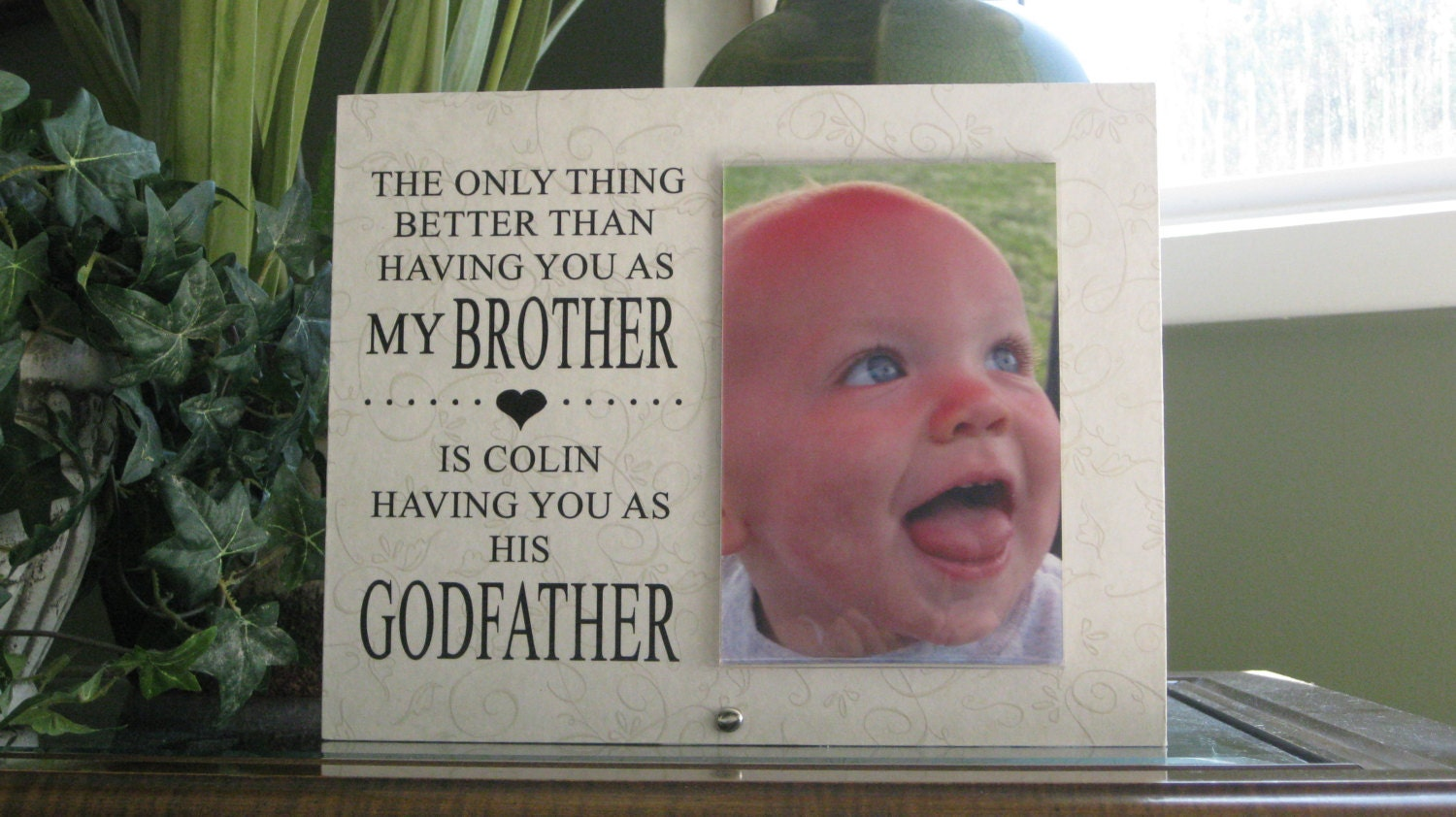 Personalized Godmother Gift, Personalized Godmother Frame ...