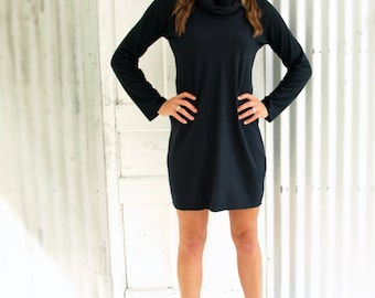 Hemp and Organic Cotton Cowl Tunic Made to Order