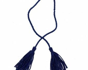 Blue tassel + cord