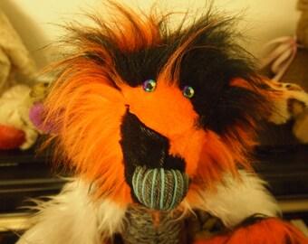 Sweet Monster Teddy Bear handmade