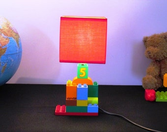 lego duplo red Lampshade lamp