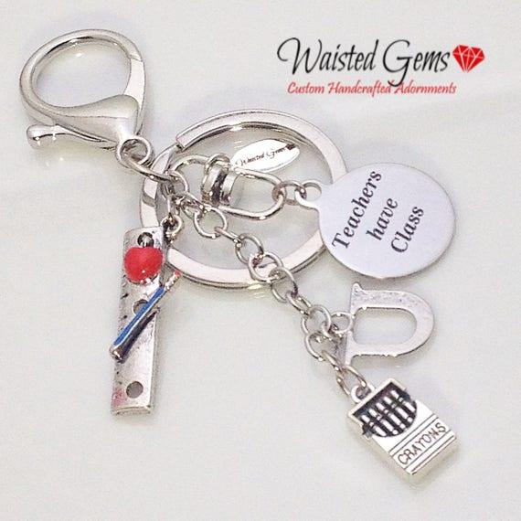 Teachers Have Class Custom Key Chain, Teachers Gifts, Back to School, Students, Custom Key Chains, Teaches, zmw9902