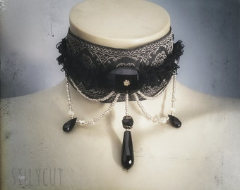 choker -  victorian, baroque, historic, gothic, costume, renaissance...