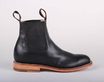 Womens Chelsea Boot (Black)