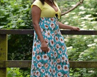 Aphrodite Dress PDF Sewing Pattern Tie Front Dress, Tunic, Maxi, Breastfeeding Friendly, Vintage Inspired, Mini, Midi, High Low, Dolman