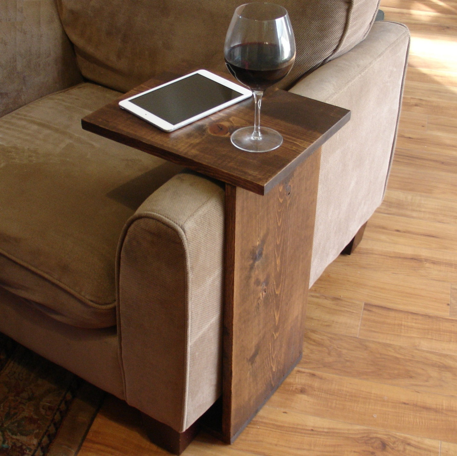 Amazing Sofa Chair Arm Rest Tray Table Stand