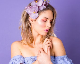 Lana Orchid Aliceband SS18