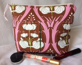 Pleated Cosmetic Pouch
