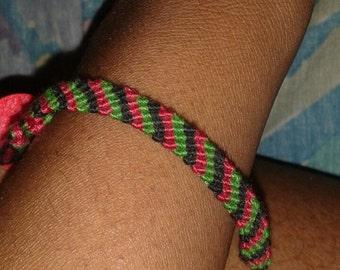 African American Pride Flag Bracelet