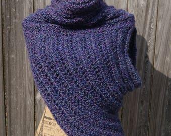 Huntress Vest/Archer Cowl- Purple Iris