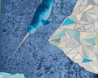 "Original Artwork: ""The Crystal Sea"""