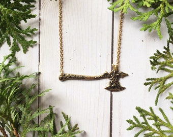 Sky in the Deep Filigree Axe Necklace   Vikings Jewelry   Sky in the Deep Inspired Jewelry   Eelyn Fiske   Eelyn Necklace   Bookish Jewelry